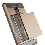 ซื้อ เปลือกป้องกัน Galaxy หมายเหตุ 3 กระเป๋าใส่นามบัตรคู่กันกระแทกกรณียางกันกระแทกพร้อมช่องใส่การ์ดสำหรับ Samsung Galaxy หมายเหตุ 3 นานาชาติ ออนไลน์ ถูก