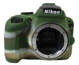 ซื้อ Protective Silicone Gel Rubber Soft Camera Case Cover Bag For Nikon D3400 Camera Green Intl ถูก