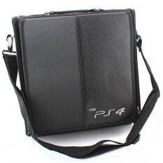 กระเป๋า PS4 Bag Protect Black Game Console Travel Carrying Case for Sony PS 4 PlayStation4 PlayStation 4