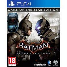 ps4 batman arkham knight game of the year edition ( english zone 2 )