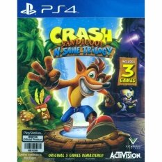 PS4 CRASH BANDICOOT N. SANE TRILOGY (ENGLISH & JAPANESE SUBS) (ASIA)