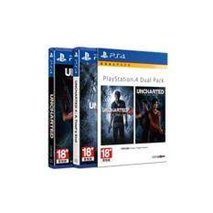 ps4 dual pack uncharted double pack ( english zone3 )