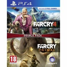 PS4 FAR CRY 4 / FAR CRY PRIMAL DOUBLE PACK (EURO)
