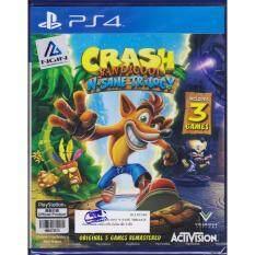 PS4 Game Crash Bandicoot™ N. Sane Trilogy  [Zone 3/Asia]