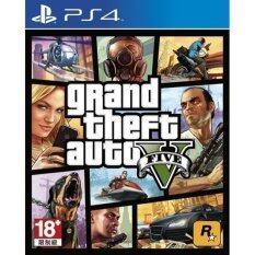 PS4 Grand Theft Auto V (Asia)