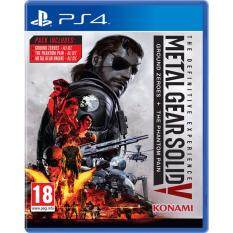 ps4 meltal gear solid v the definitive experience ground zeroes + the phantom pain ( english )