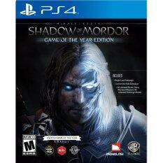 PS4 Middle-eart Shadow of Mordor Game of the Year Edition (US)