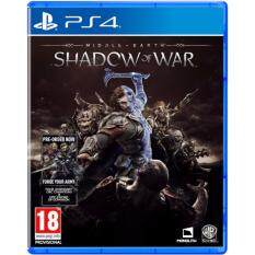 ps4 middle - earth shadow of war ( english+asia )