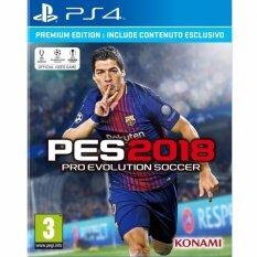 PS4 Pro Evolution Soccer 2018 [PES2018] (Zone 2)