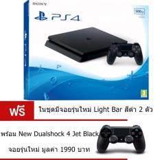PS4 Slim 500 GB CUH-2106A Black+New PS4 Controller Black ประกันศูนย์ไทย2ปี