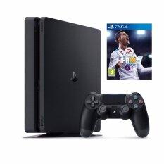 PS4 Slim 500GB ประกันศูนย์ SONY ไทย CUH-2106A Free FIFA18 [Zone 3]