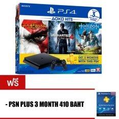 PS4 SLIM : HITS BUNDLE [500GB] ประกันศูนย์ไทย