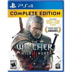 ps4 the witcher wild hunt complete edition ( english zone 1 )