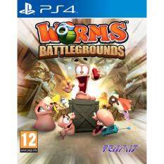 PS4 WORMS BATTLEGROUNDS (Europe)