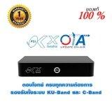 ขาย ซื้อ ออนไลน์ Psi กล่องรับสัญญาณดาวเทียม รุ่น Ok X รองรับ 2 ระบบ จานทึบและจานตะแกรง C Ku Black Okx