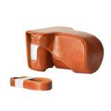 ราคา กล้องกระเป๋าเคสคลาสสิกหนัง Pu ป้องกันกระเป๋าด้วยไหล่รัดสำหรับที่na1 A2 เล็ก X Fuji Fujifilm X A3 ลัด X หมู่ 1 ใหม่ล่าสุด