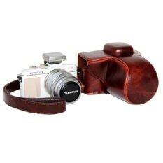 ราคา Pu Leather Camera Bag Case Cover Pouch With Strap For Olympus Pen E Pl7 Epl7 E Pl8 Epl8 With 14 42Mm Intl Unbranded Generic เป็นต้นฉบับ