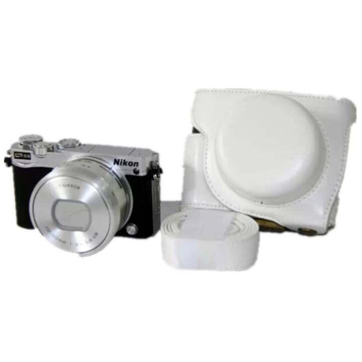 รีวิว Pu Leather Camera case bag cover for Camera J5 With 10-30mm lens –