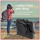ราคา Pu Leather Case Cover Bag For Digital Camera Sony Rx100 With Strap Black Xcsource ฮ่องกง