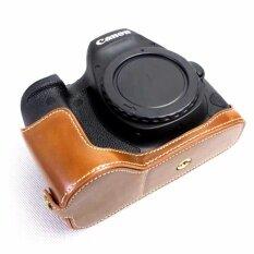 ขาย ซื้อ Pu Leather Half Camera Case Base For Canon Eos 6D Mark Ii 6D2 Intl ฮ่องกง