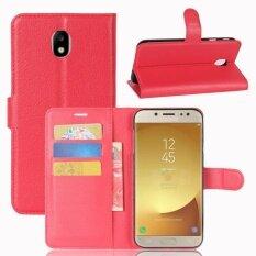 ซื้อ Pu Leather Wallet Case Cover For Samsung Galaxy J7 Pro Galaxy J7 2017 Eurasian Version Intl ถูก