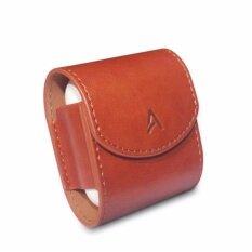 โปรโมชั่น เคสหนัง Pu Premium Leather Case For Airpods Brown Ahastyle