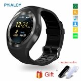 ราคา Pyialcy Y1 Round Bluetooth 3 Wearable Smart Watch Men Women Classical Business Smartwatch For Android Intl