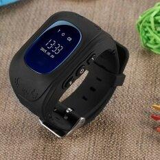 โปรโมชั่น Q50 สมาร์ทนาฬิกาเด็กเด็กนาฬิกาข้อมือ Gsm Gsm จีพีเอสจีพีเอสระบุตำแหน่งเครื่องติดตามป้องกัน สูญหายสมาร์ทการ์ดยามเด็กสำหรับ Ios นานาชาติ Q50