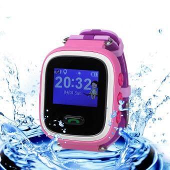 นาฬิกาข้อมืออัจฉริยะป้องกันเด็กหายรุ่น Q60 สำหรับแอนดรอยด์ iOS