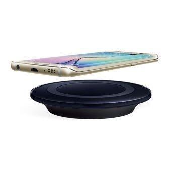 QI Wireless Charger สแตนด์ชาร์จแบตไร้สาย สำหรับ Samsung S6 / S6 edge/S7/S7edge/NOTE5 และ เครื่องที่มีชาร์จแบบไร้สายในตัว (Black)