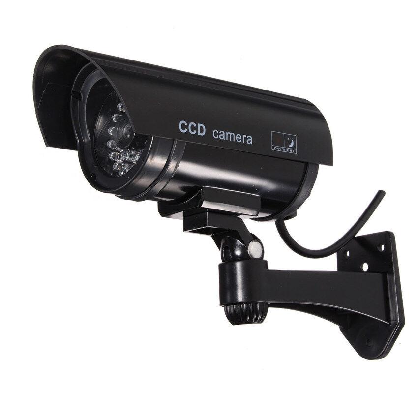 Qiaosha Home Surveillance Security Dummy IR Simulation Camera CCTV Flashing