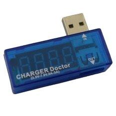 ซื้อ Qoovan Usb Mini Charger Doctor Current Test Tool Voltage Test Tool Amp Volt Reader Blue Intl ออนไลน์
