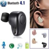 โปรโมชั่น Qp350 In Ear Headset Earphone Earbud Earpiece Mini Wireless Bluetooth 4 Stereo Intl จีน