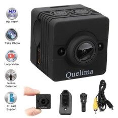 Quelima Sq12 Hd 1080p 155-Degree Dvr Sport Video Hidden Mini Camera Camcorder - Intl.