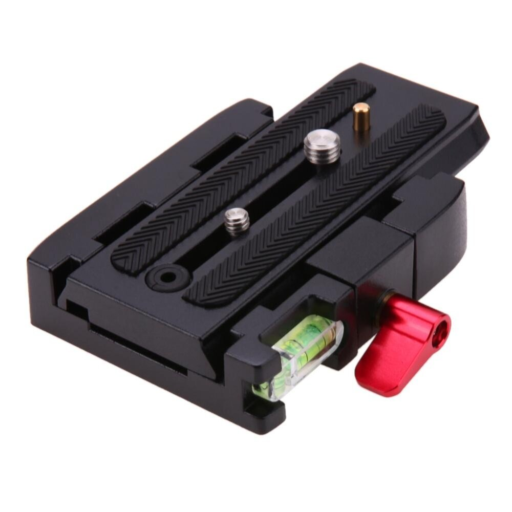 Quick Release Plate P200Clamp Adapter for Manfrotto 577 501 500AH 701HDV 50 (Black) - intl
