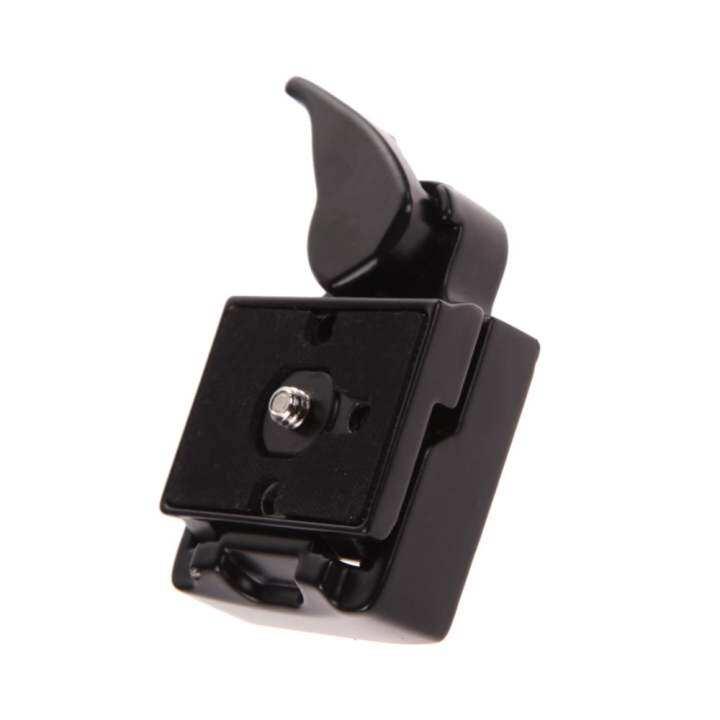 ราคา Quick Release SLR DSLR Camera Lens Tripod Clamp Plate Adapter Mount Screw