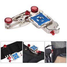 ราคา Quick Release Waist Belt Backpack Strap Buckle Clip Mount Holder Hanger Fast Loading Adapter For Nikon Canon Sony Pentax Slr Dslr Camera Max Load Capacity 20Kg 44Lbs Outdoorfree Intl