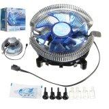 ทบทวน ที่สุด Quiet Led Cpu Cooler Fan Heatsink For Intel Lga775 1155 1156 I3 I5 I7 Am2 Am3 Intl