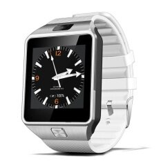 Qw09 Android 4 4 3G Smart Watch Phone Mt6572A 1 2Ghz Dual Core Wifi Bluetooth Smartwatch Silver Intl เป็นต้นฉบับ