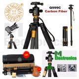 ซื้อ Qzsd Q999C Professional ขาตั้งกล้อง ทำจาก Carbon Fiber เป็นทั้ง Tripod Monopod มาพร้อม Ball Head For Dslr Camera Portable Camera Stand Better Than Q999 Professional ออนไลน์ ถูก