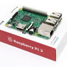 Raspberry Pi 3 Model B 1GB RAM Quad Core 1.2GHz 64bit  + AC Adapter