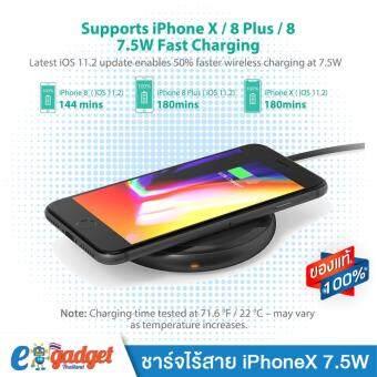 Ravpower ที่ชาร์จไร้สาย10W ชาร์จเร็ว 7.5W iPhone 8/8+/X Fast Wireless Charger All Qi-Enabled Devices (ไม่มี Adapter แถม)