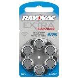 ราคา Rayovac ถ่านเครื่องช่วยฟัง ถ่านหูฟังคนแก่ ขนาดA675 Pr44 แพ็ค 6 ก้อน ถ่านอุปกรณ์ช่วยฟังนำเข้ามาตรฐานยุโรป Extra Advanced 1 45V Zinc Air Hearing Aid Battery 6 Pcs เป็นต้นฉบับ