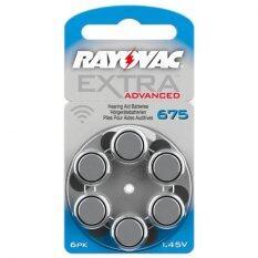 ขาย Rayovac ถ่านเครื่องช่วยฟัง ถ่านหูฟังคนแก่ ขนาดA675 Pr44 แพ็ค 6 ก้อน ถ่านอุปกรณ์ช่วยฟังนำเข้ามาตรฐานยุโรป Extra Advanced 1 45V Zinc Air Hearing Aid Battery 6 Pcs กรุงเทพมหานคร ถูก