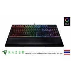 Razer ORNATA Chroma MEMBRANE MEETS Mechanical Gaming Keyboard - Key Thai