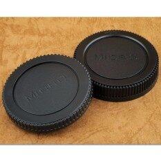 Rear Lens Cap ฝาปิดท้ายเลนส์ + Body Cap ฝาปิดบอดี้ Micro M4/3 M43 Olympus Panasonic Gf1/gf2/gf3.