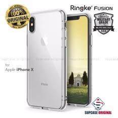ราคา Rearth Ringke Fusion เคสกันกระแทกระดับ Military Grade สำหรับ Apple Iphone X สีใส Clear ออนไลน์ กรุงเทพมหานคร