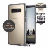 ราคา Rearth Ringke Fusion เคสกันกระแทกระดับ Military Grade ของแท้ สำหรับ Samsung Galaxy Note 8 สีดำใส Smoke Black เป็นต้นฉบับ