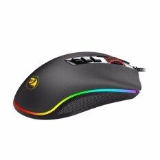 ราคา Redragon M711 Cobra Gaming Mouse Macro 10000Dpi เมาส์เกมมิ่งมาโคร สีดำ ใหม่ล่าสุด