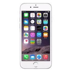 Refurbished Apple Iphone 6 16Gb Silver Free Case Screenprotector ใน กรุงเทพมหานคร